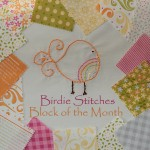 Birdie Stitches Block of the Month