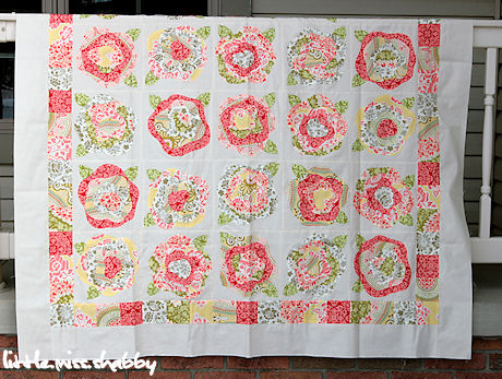 French Roses Quilt Pattern | Beso