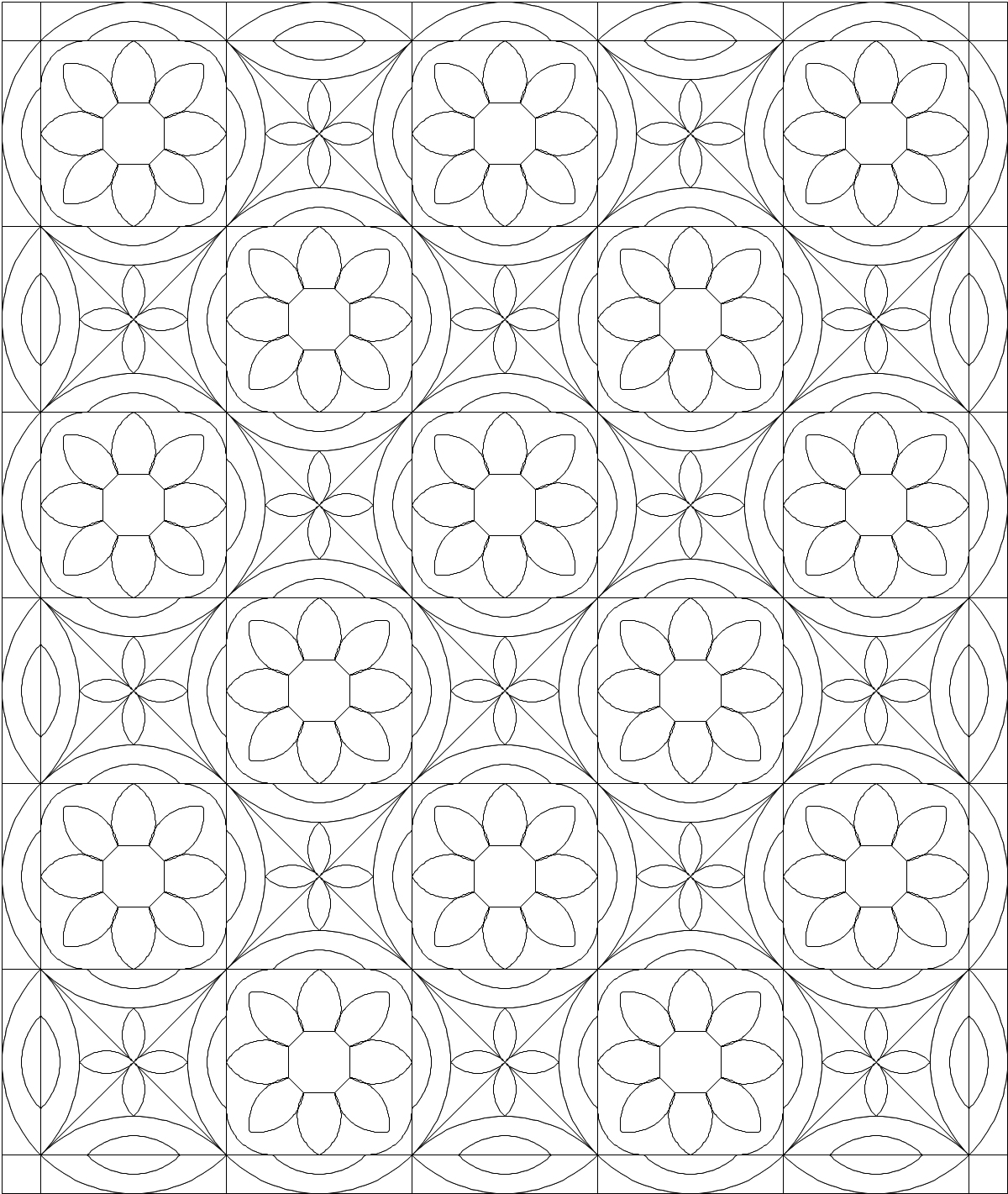 quilt coloring pages - photo#39
