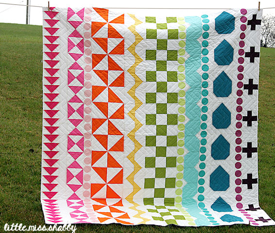Rainbow Rows Quilt