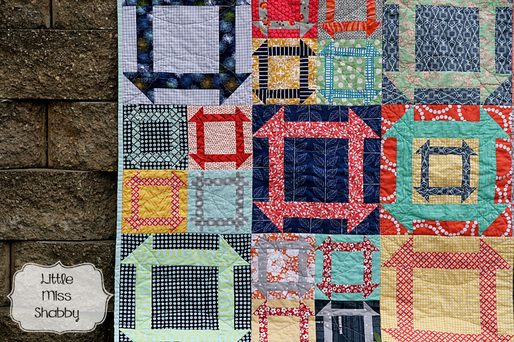 Churndash Quilt Closeup