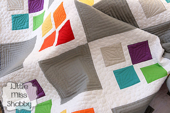 Square Scramble Quilt