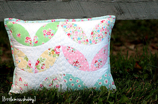 Rainbow Petals Pillow