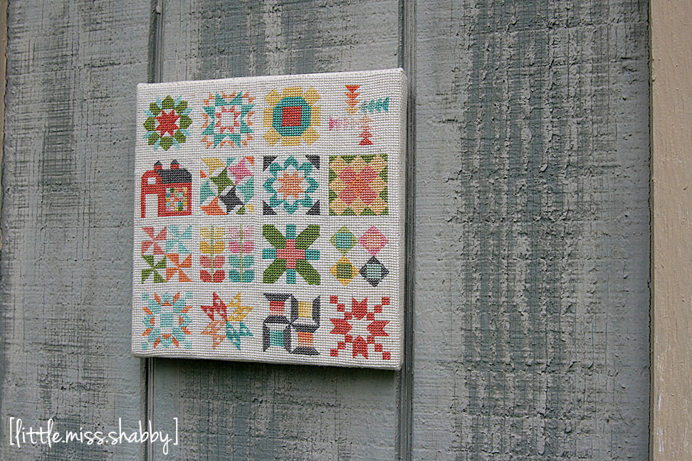 Quilty Stitches Sampler Picture Copy